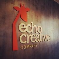 Photo taken at Echo Creative Company by Giuliano A. on 4/15/2013