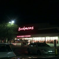 Photo taken at Bookmans by David O. on 11/25/2012