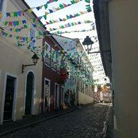 Photo taken at Largo do Pelourinho by Leandro P. on 7/6/2013