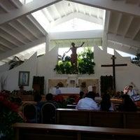Photo taken at Parroquia de Cristo Resucitado by Eugenia O. on 12/25/2012
