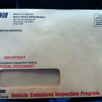 Photo taken at Vehicle Emissions Inspection Program (VEIP) Station by *pauline* on 2/8/2013