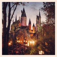Photo taken at Harry Potter and the Forbidden Journey / Hogwarts Castle by Sergey 136th on 1/2/2013
