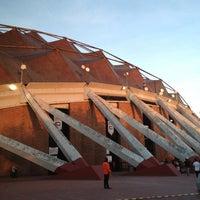 Photo taken at Palacio de los Deportes by Jose Carlos M. on 6/1/2013