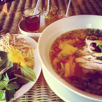 Photo taken at Pho Bac by Carla on 10/30/2012