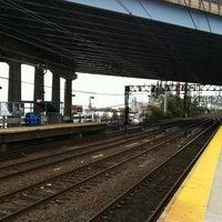 Photo taken at Bridgeport Train Station (BRP) - Metro North & Amtrak by Michael-John K. on 11/2/2012