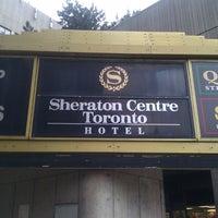 Photo taken at Sheraton Centre Toronto Hotel by Alexander R. on 3/28/2013