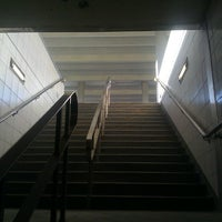 Photo taken at Bathurst Subway Station by Alexander R. on 4/21/2013