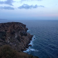 Photo taken at Cape Sounion by Katya R. on 10/14/2012
