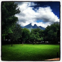 Photo taken at Tecnológico de Monterrey (Campus Monterrey) by Jonathan L. on 10/12/2012