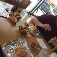 Photo taken at Five Guys by Shea M. on 5/21/2016