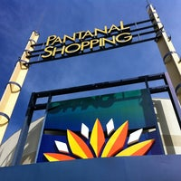 Photo taken at Pantanal Shopping by Denise N. on 7/7/2013