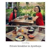 Photo taken at Baan Tye Wang, Ayuttaya by Anlee D. on 2/23/2014