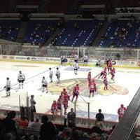 Photo taken at Veterans Memorial Coliseum by Kyle H. on 4/6/2013