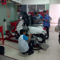 Photo taken at Piaggio Permata Hijau by Dimas P. on 2/13/2013