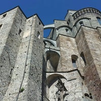 Photo taken at Sacra di San Michele by Claudia on 4/25/2016