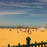 Photo taken at Margate Beach by María C. on 7/15/2013