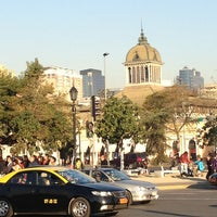 Photo taken at Metro Puente Cal y Canto by Alejandr on 7/23/2013