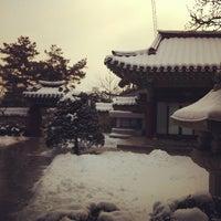 Photo taken at 보문사 (普門寺) by Ji Ho P. on 2/10/2013