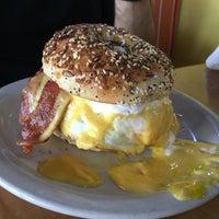 Photo taken at New York Bagels `N Bialys Restaurant & Deli by Daniel E. on 5/14/2016