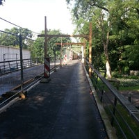 Photo taken at Karl-Birkmann-Brücke (Zoobrücke) by Frank K. on 7/30/2013