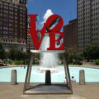 Photo taken at JFK Plaza / Love Park by Andrew P. on 7/5/2013