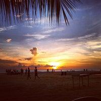 Photo taken at Praia de Jericoacoara by Dan C. on 5/24/2013