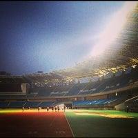 Photo taken at Suzhou Sports Center by Rhinover on 6/20/2015