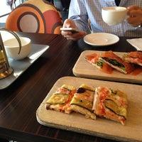 Photo taken at Sciué Italian Bakery Caffé by Allen W. on 10/8/2012