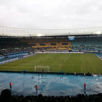 Photo taken at Ernst-Happel-Stadion by Max on 5/30/2013