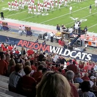 Photo taken at Arizona Stadium by Laurie J. W. on 10/21/2012