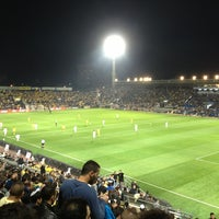 Photo taken at Bloomfield Stadium by doron A. on 3/10/2013