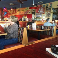Photo taken at Red Robin Gourmet Burgers by Alex R. on 11/9/2014
