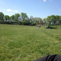 Photo taken at Joyce Park FOSC Fields by Claudio C. on 5/18/2014