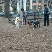 Photo taken at Marcus Garvey Park - Dog Run by Morgan F. on 4/23/2014