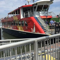 Photo taken at Gray Line New York Sightseeing Cruises - Pier 78 by cristina c. on 6/12/2016
