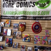Photo taken at Laughing Ogre by Richard D. on 8/30/2014