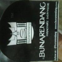 """Photo taken at Bunarendang """"Burger Nasi Rendang"""" by ezha 5. on 10/5/2012"""