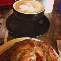 Photo taken at Crema Bakery and Cafe by Lougan B. on 1/30/2013