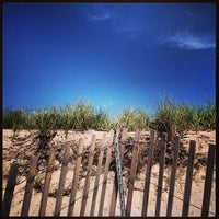 Photo taken at Robert Moses State Park Beach by ryo on 6/29/2013
