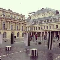 Photo taken at Palais Royal by js c. on 1/26/2013