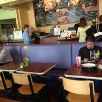 Photo taken at Camilles Sidewalk Cafe by Noel D. on 2/27/2013