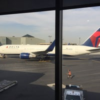 Photo taken at Delta Sky Club by Paul N. on 4/25/2016