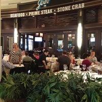 Photo taken at Joe's Seafood Prime Steak & Stone Crab by Patrick H. on 4/15/2012