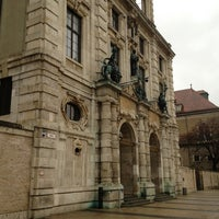 Photo taken at Bayerisches Nationalmuseum by ⛵️Chris⛵️ G. on 1/5/2013