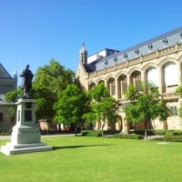 Photo taken at University of Adelaide by Marco M. on 2/11/2013