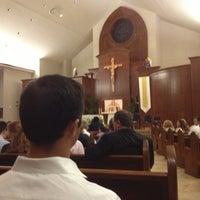 Photo taken at St. Michael's Catholic Church by Josh M. on 3/31/2013