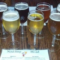 Photo taken at Nodding Head Brewery & Restaurant by Jim A. on 6/26/2013
