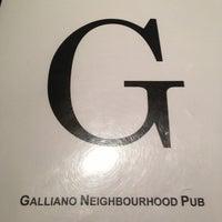Photo taken at Galliano's Neighbourhood Pub by Jason T. on 1/22/2013