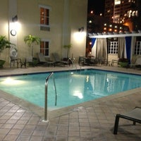 Photo taken at Hampton Inn & Suites St Petersburg Downtown by Laura N. on 1/23/2013