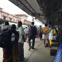 Photo taken at Thrissur Railway Station by Gary S. on 9/29/2016